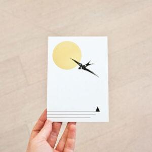diebuntique-luftlinie-postkarte-gold-schwalbe-03