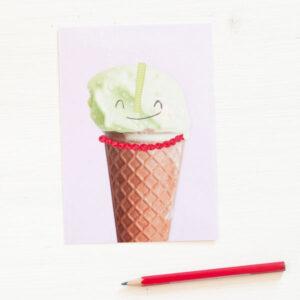 diebuntique-littleprintstore-postkarte-eis-pistazie-03