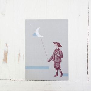 diebuntique-luftlinie-postkarte-vintage-bub-mond