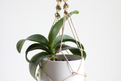 Makramee – Blumenampeln knüpfen
