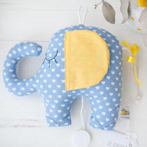 diebuntique-spieluhr-elefant-blau