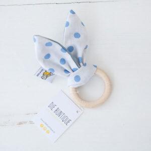 diebuntique-beissring-hase-weiß-blau